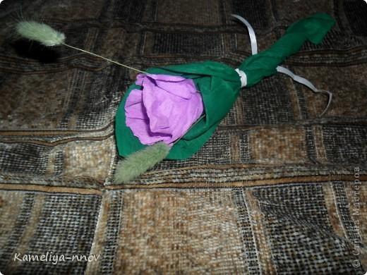 Конфетный цветок фото 1
