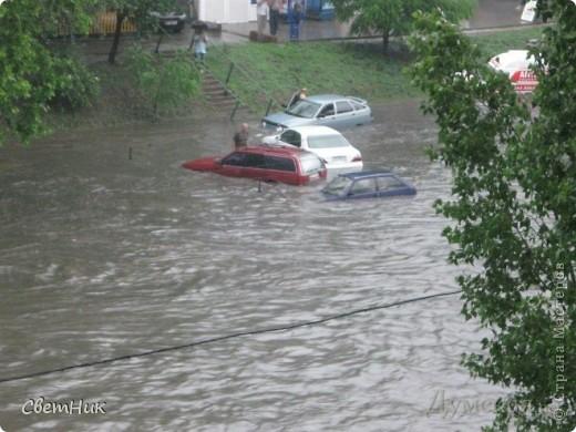 Дорогие жители Страны! Приглашаю вас прогуляться по Одессе, пройтись по ее улицам , Сегодня в Одессе прошел сильный дождь,  Перевыпь затопило сын возвращаясь с учебы попал в пробку,  фото 11