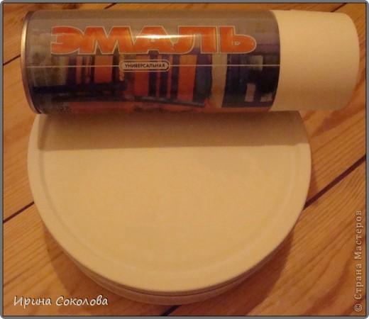 Короб для рукоделия выполнен в технике декупаж и аппликация. фото 4