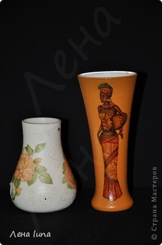 Эти вазочки делала на подарки ещё к 8 марта фото 1