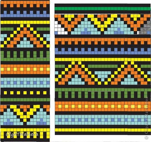 Бисер африканское плетение