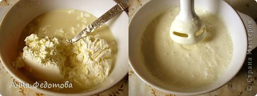 Делается очень просто, получается необычайно вкусно – застывший крем, лёгкий и нежный, как облачко! Можно готовить с любыми ягодами или мягкими фруктами (кроме, разве что, бананов – будет слишком приторно). фото 5