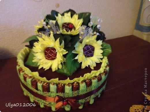 Сладкие тортики и ракушка фото 1