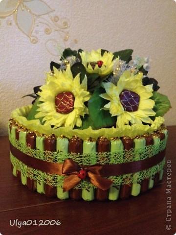Сладкие тортики и ракушка фото 2