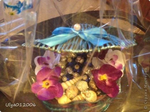 Сладкие тортики и ракушка фото 6