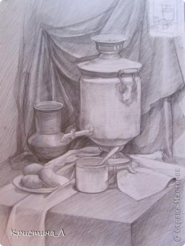Рисунок (натюрморт) фото 1