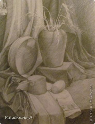 Рисунок (натюрморт) фото 2