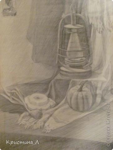 Рисунок (натюрморт) фото 3