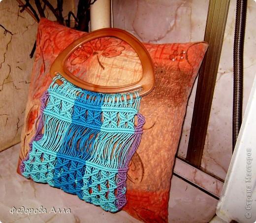 Летняя сумочка для старшей дочки