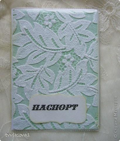 наделала немного обложечек для паспорта. много не мудрила, использовала кое-где готовые мотивы у дочки с тетрадных обложек.с альбомов... эта  для меня фото 4