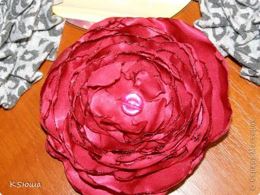 Цветочки-заколочки фото 2