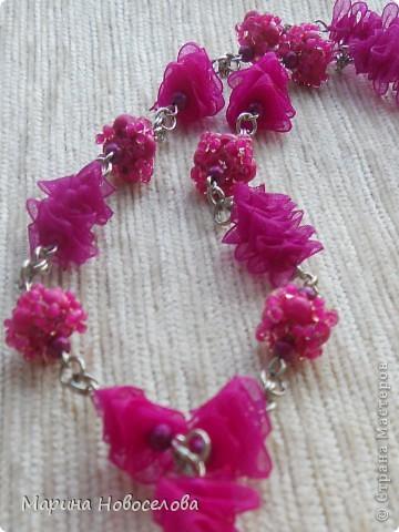 Купила в магазине 2 бабочки - одну насыщенного розового цвета, вторую - бледно-розовую. Долго лежали, и наконец я решила что с ними можно сделать. фото 3