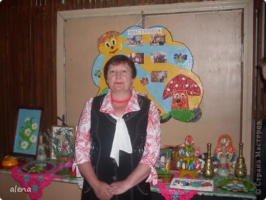 Наша совместная с мамой выставка. Именно она научила меня заниматься творчеством.  фото 2