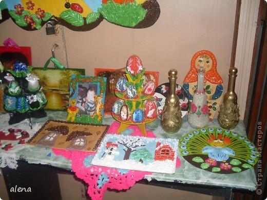 Наша совместная с мамой выставка. Именно она научила меня заниматься творчеством.  фото 1