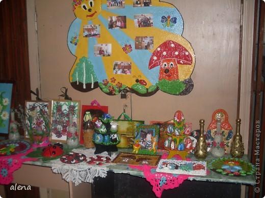 Наша совместная с мамой выставка. Именно она научила меня заниматься творчеством.  фото 3