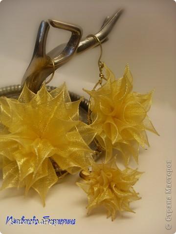 Вот такие летние сережки получились:)Название еще не придумала)))) фото 4