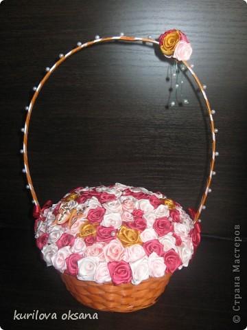 Мои корзинки с розами фото 1