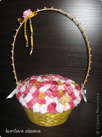 Мои корзинки с розами фото 2