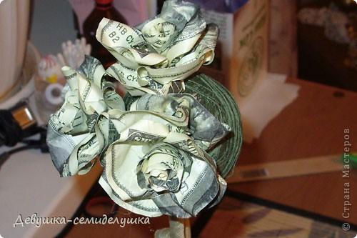 В качестве одного из подарков для гостей от жениха и невесты у нас будет денежное дерево Заранее прошу прощения за качество фото, т.к. делались они в ночное время суток на моем рабочем месте. фото 22