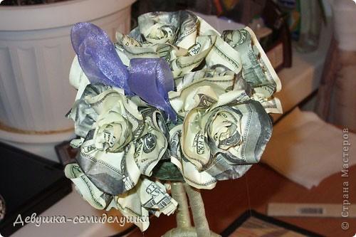 В качестве одного из подарков для гостей от жениха и невесты у нас будет денежное дерево Заранее прошу прощения за качество фото, т.к. делались они в ночное время суток на моем рабочем месте. фото 23