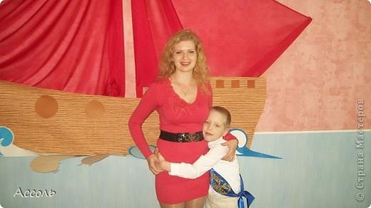 """Наступил тот волнительный день, когда мой сыночек, совсем повзрослев, покидает стены родного детсадика!!! Решилась на """"подвиг"""" - сшила за вечер брючки из своих льняных штанов (которые носила, будучи глубоко беременной))). Результат меня порадовал, а Санек вообще был в восторге!) фото 6"""