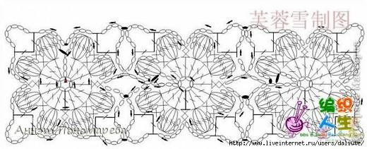 Жилеточка из цветочных мотивов фото 3