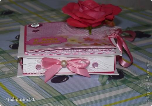 Свадьба у подруги приближается! Подарки принимаются только в денежном виде (нас заранее предупредили). Сначала будет шуточный подарок-сувенир, который я уже показывала http://stranamasterov.ru/node/364621, а потом вот этот: фото 8