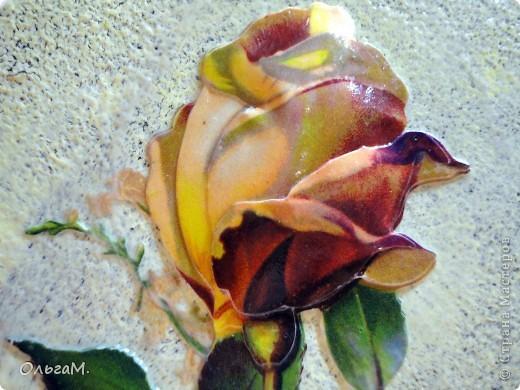 Используем декупажные карты для объёмного цветочка фото 2