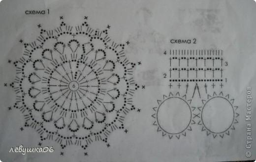 """вот некоторые схемки к салфеткам , которые я выкладывала  http://stranamasterov.ru/node/366584  и одна схемка к топу http://stranamasterov.ru/node/290681 . схемки были взяты из журнала """"Валентина""""  схемка к """"звезде"""" фото 6"""