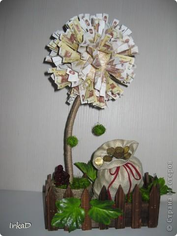 Давно хотела сделать деревце из наших лейчиков. И вот что получилось))) Если вы не против расскажу как его делала))) фото 1