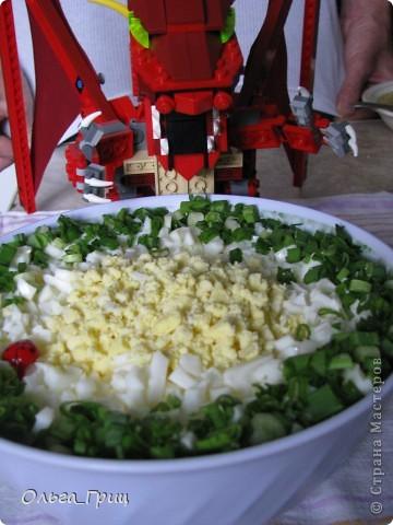 Вот такой замечательный салатик у нас получился. Вкусный и питательный. фото 11
