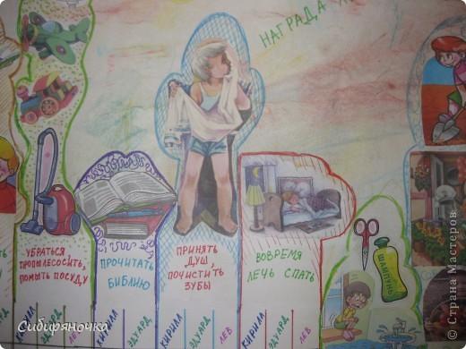 Идею, как упорядочить детский режим взяла тоже здесь, не помню, у кого, правда. фото 3