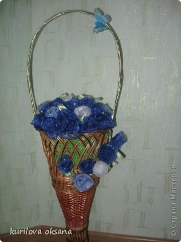 Мои корзинки с розами фото 3