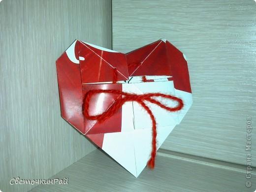 """МК. Оригами """"Сердце"""" фото 22"""