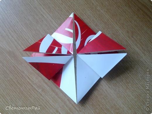 """МК. Оригами """"Сердце"""" фото 11"""