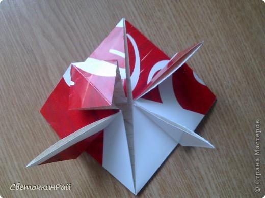 """МК. Оригами """"Сердце"""" фото 13"""