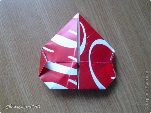 """МК. Оригами """"Сердце"""" фото 17"""