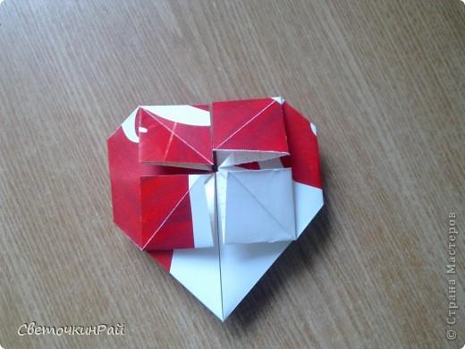 """МК. Оригами """"Сердце"""" фото 18"""