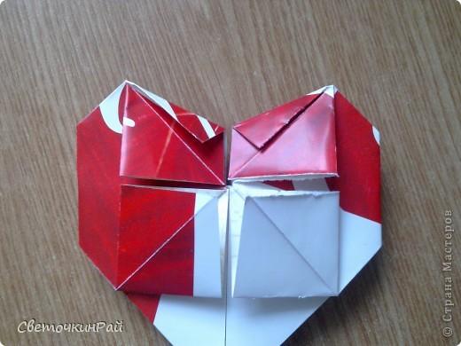 """МК. Оригами """"Сердце"""" фото 19"""