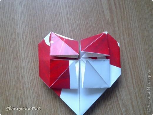 """МК. Оригами """"Сердце"""" фото 20"""