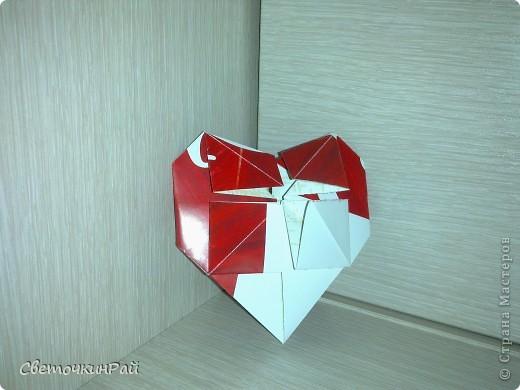 """МК. Оригами """"Сердце"""" фото 21"""