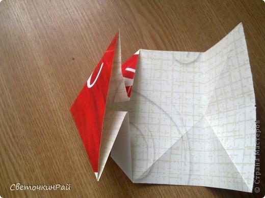 """МК. Оригами """"Сердце"""" фото 8"""