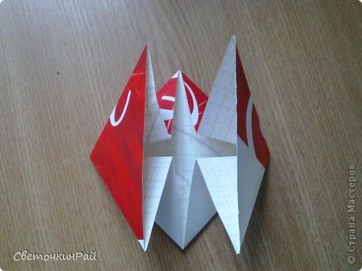 """МК. Оригами """"Сердце"""" фото 9"""