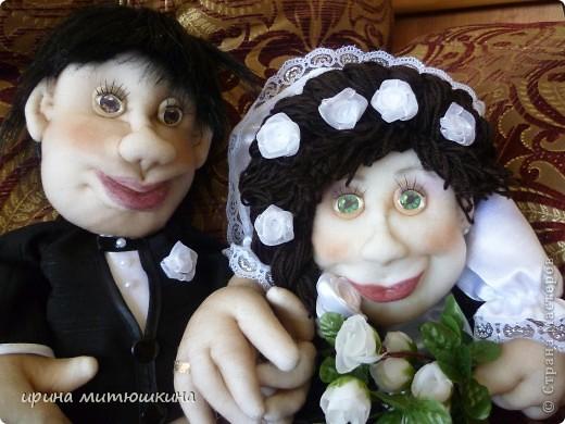 Вот такая славная парочка у меня пошилась. Невеста по Мк Pawy, жених по МК Маринкин. За что им огромное спасибо! фото 5