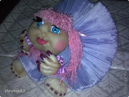Маргаритка. Вот такая розово -  сиреневая девочка получилась.  фото 3