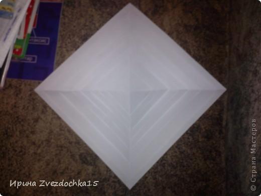 Я думаю многие знают, как делать стандартную кувшинку из бумаги. В этой кувшинке четыре стандартных.  На каком-то сайте видела что-то подобное тому, что я сделала. Надеюсь кому-то понравится:)) фото 2