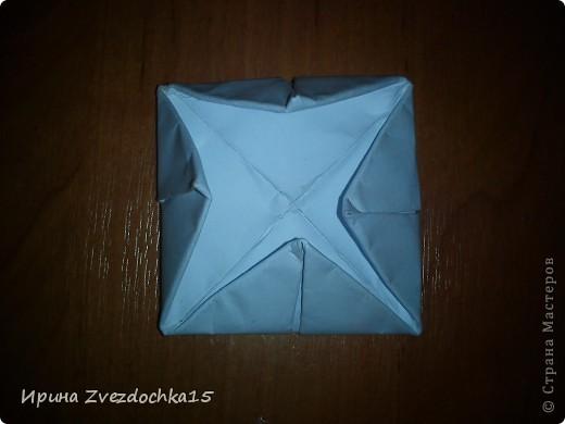 Я думаю многие знают, как делать стандартную кувшинку из бумаги. В этой кувшинке четыре стандартных.  На каком-то сайте видела что-то подобное тому, что я сделала. Надеюсь кому-то понравится:)) фото 7