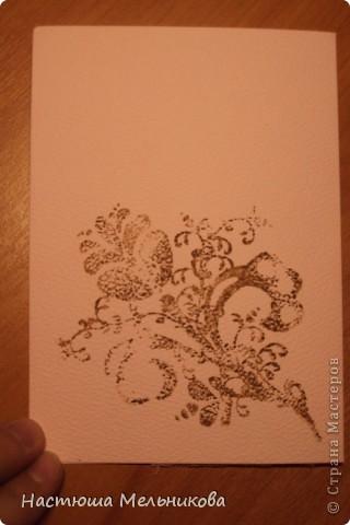 Привет СМ)))) Вот, наконец-то, я сделала нормальную Скрап-открытку! Это моя первая настоящая работа в настоящей технике скрапбукинг! А то, что было до этого-ерунда!!!)))) фото 3