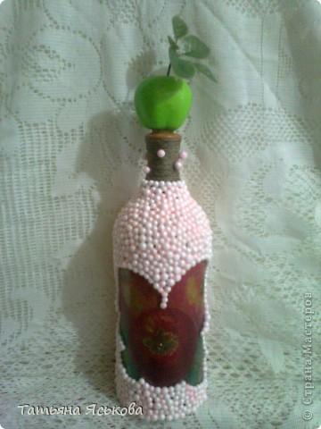 Предлагаю вашему вниманию бутылочку-яблочко.  фото 1