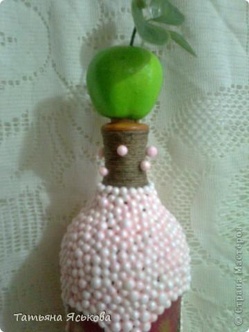 Предлагаю вашему вниманию бутылочку-яблочко.  фото 3